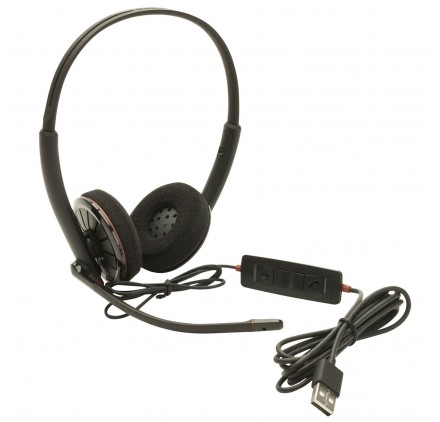 Auriculares Plantronics Bluetooth Inal 225 Mbricos Con Cable