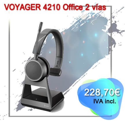 Voyager 4210 Office 2 vias