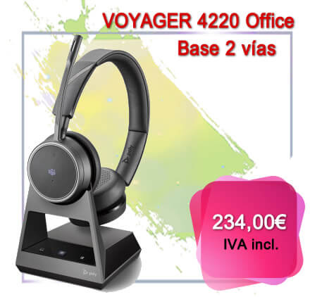 Voyager 4220 Office base 2 vias