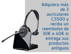Plan renove con cs500 de Plantronics