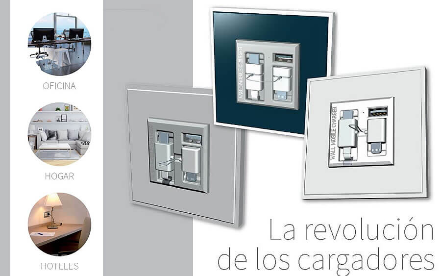 Wall Mobile Charger en Emesal