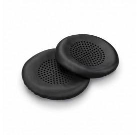 Pack de 2 almohadilla simil cuero Plantronics auricular Blackwire