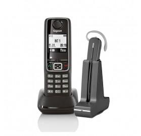 Telefono inalambrico A420 + Inalambrico Plantronics C565