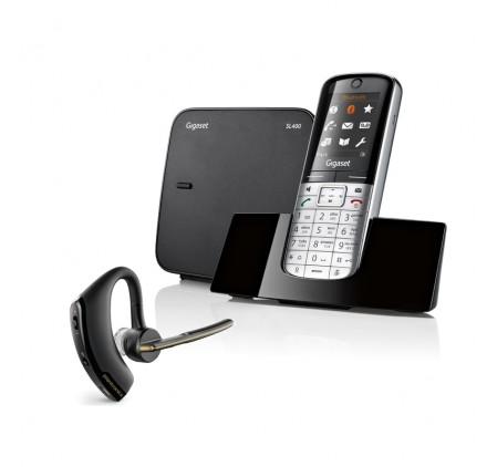 Telefono inalambrico SL 400 + Bluetooth Plantronics Vogager Legend  Bluetooth