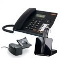 Pack telefono fijo Alcatel Temporis 580 + Inalambrico Plantronics CS540 con descolgador HL10