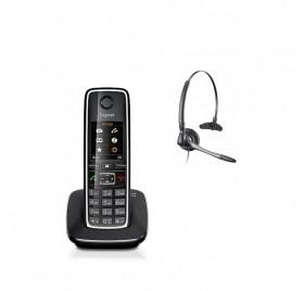 Pack Telefono inalambrico Gigaset C530 + Casco con cable Duoset