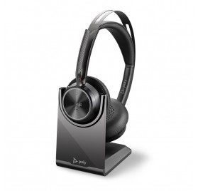 Auricular Inalambrico Voyager Focus 2 UC - USB A / con soporte de carga