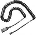 cable rizado U10P de Plantronics