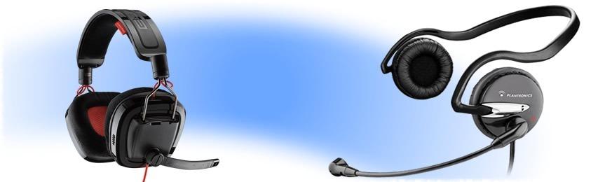 Auriculares PC y Cnes unificadas