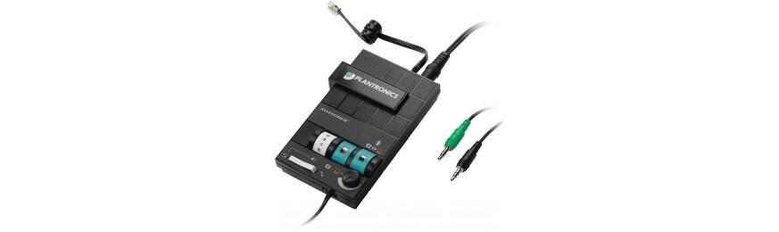 Amplificadores y adaptadores